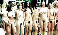 Retro Nudists 1960's in color