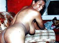 Milly j,a very hairy mature big tits Ebony girl