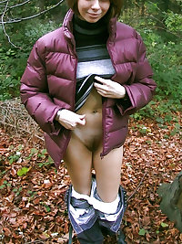 Amateur's With Hairy Natural Bushes Pic Set 2