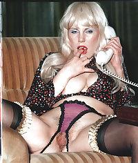 Vintage nylon stockings hairy 2