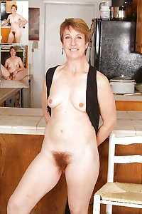 redhead mature with hairy pussy