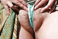 Big Hairy Split BBW pussies cameltoes