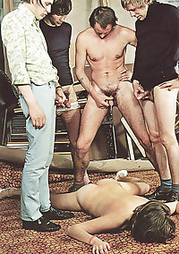 Perverted Orgies #3 - Vintage Porno Magazine