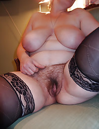 big boobs mature hairy pussy