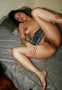Asian College Girl with a Hairy Pussy