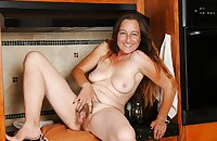 Amateur hairy Milf and Mature women