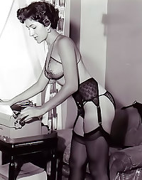 Vintage Hairy stockings