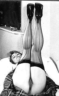 Vintage Hairy stockings