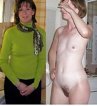 Dressed - Undressed Hairy Women Part 2
