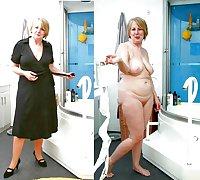 MILF Dress Undressed