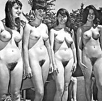 Vintage nude contests
