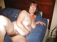 Mature nylon and hairy 15