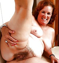 Hairy Mature Mix 13