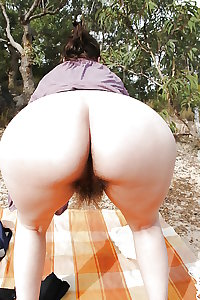 mature ass and hairy pussy