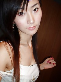 Japanese and Chinese girls with hairy armpits
