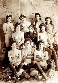 old vintage sex - very old brothels and prostitutes mix 3