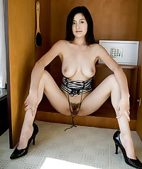 Erotic Asian Hairy Babes - Session 8