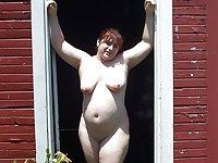 Fat Chubby Saggy Nudist