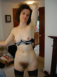 Mature nylon and hairy 25