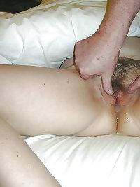 Stranger fucks wife while I watches & cream pie 2