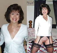 granny dressed undressed